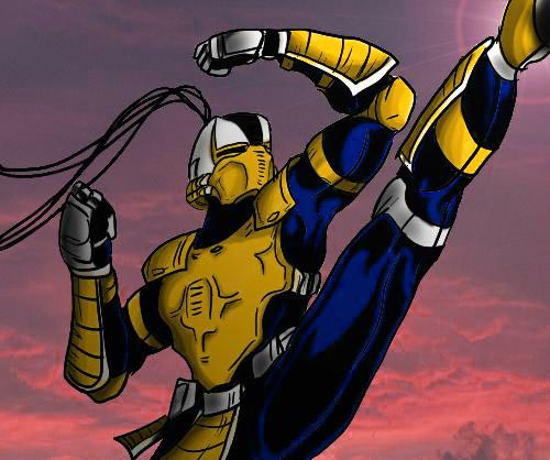 Cyrax by TheInsaneDarkOne