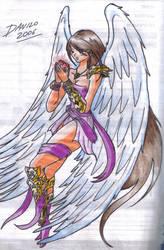 Female Angel by TheInsaneDarkOne