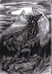 Good vs Evil by TheInsaneDarkOne