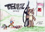 Tediz Wins by TheInsaneDarkOne