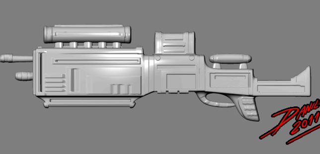 Weapon studies by TheInsaneDarkOne