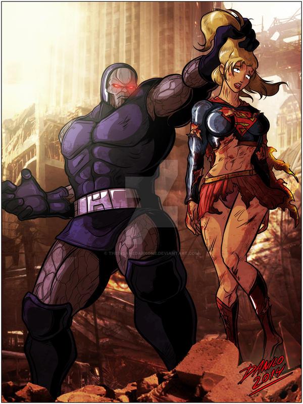 Trigon Vs Darkseid