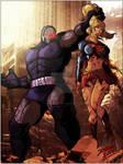 The power of Darkseid!