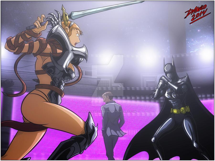 Queen of Fighters - First fight 3 by TheInsaneDarkOne on DeviantArt