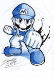 Tournament Smash Mario by TheInsaneDarkOne