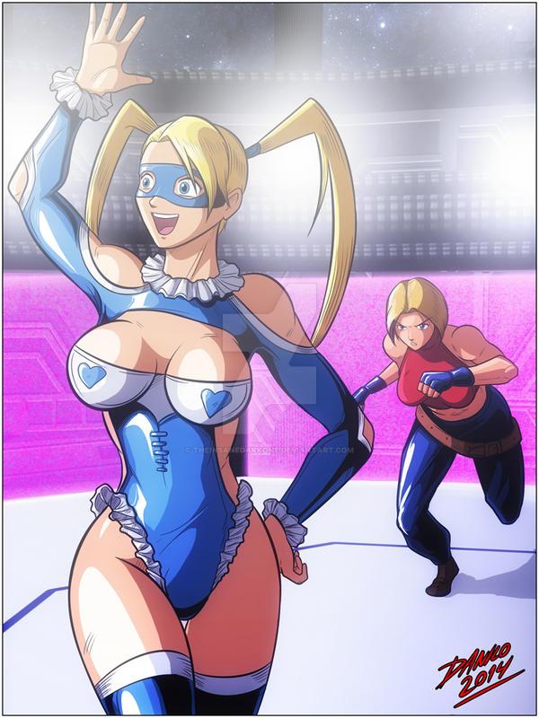 Queen of Fighters - Second fight 4 by TheInsaneDarkOne on DeviantArt