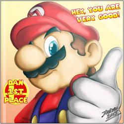 Smashing Mario prize by TheInsaneDarkOne