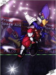 Falco prize poster by TheInsaneDarkOne