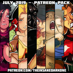 July 2019 Patreon pack now available!