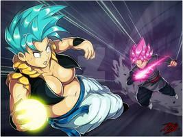 Metrina vs Goku Black