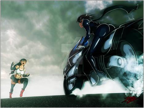 Tifa vs Makoto - Intro