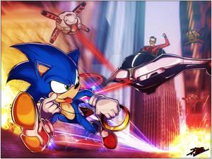 Sonic Chase scene