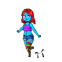 Lucy pixel by Marycreepy