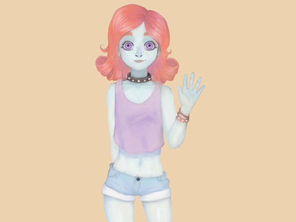 Lucy(again) by Marycreepy