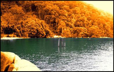 colour of Sinka Island Park by mooekzkasmooekz