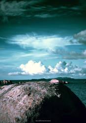 under sky at Sinka Island Park by mooekzkasmooekz