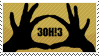 3OH!3 Stamp by SacredLugia