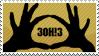 3OH!3 Stamp by SacredLugia