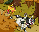 [PMD: BtS] Amidst the Falling Leaves