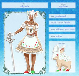 [PMD: BtS] Gretel Winsel