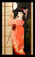 Geisha girl by deedlith