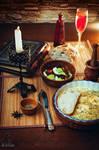 Warlock's breakfast by 2ravens