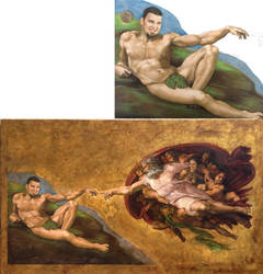 Michelangelo's by natira