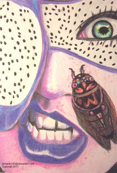 Colorful Cicada by lemgras330