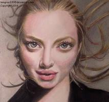 Amanda Seyfried  ~ Colored Pencil by lemgras330