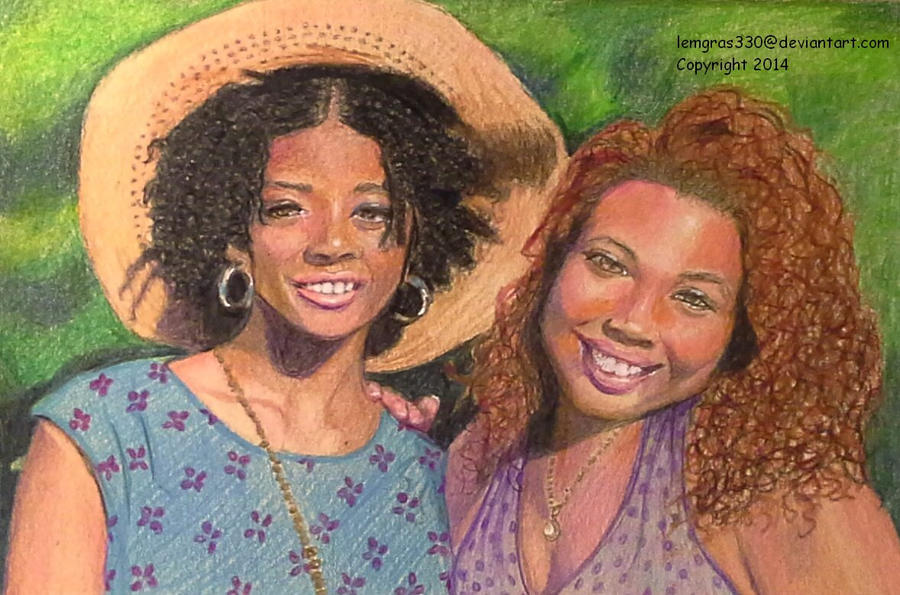 Cousins  ~  Colored Pencil by lemgras330