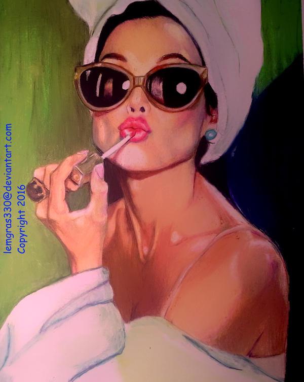 Lip Gloss II by lemgras330
