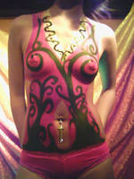 Body paint Suit by ayenz