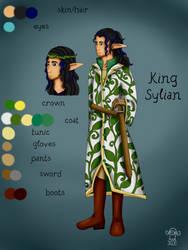 King Sylian ref sheet