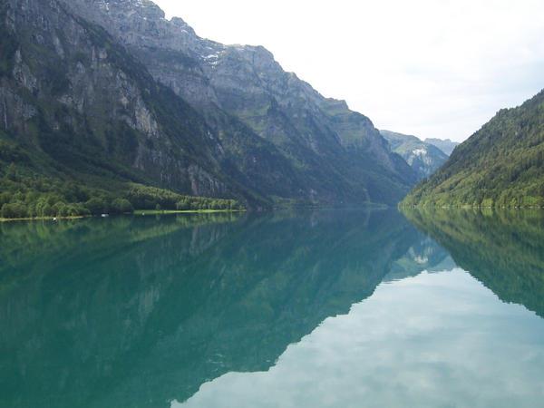 blue lake by NikiljuiceStock