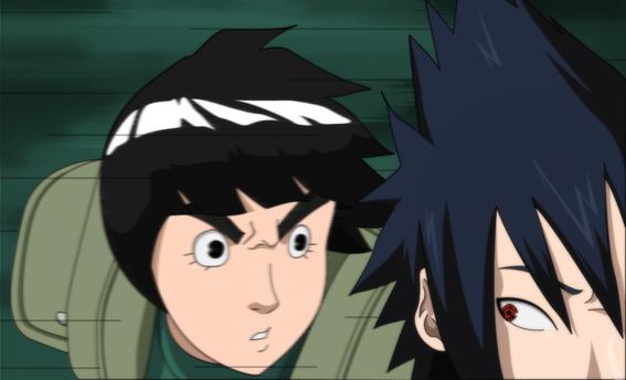 Sasuke vs Rock Lee: Rematch by SractheNinja