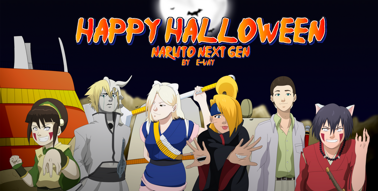 Naruto: Next Gen Halloween by SractheNinja on DeviantArt