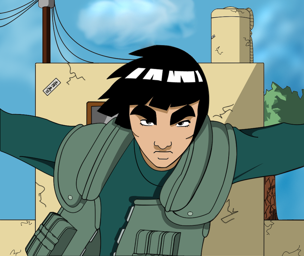 Naruto: Gai-sensei by SractheNinja on DeviantArt