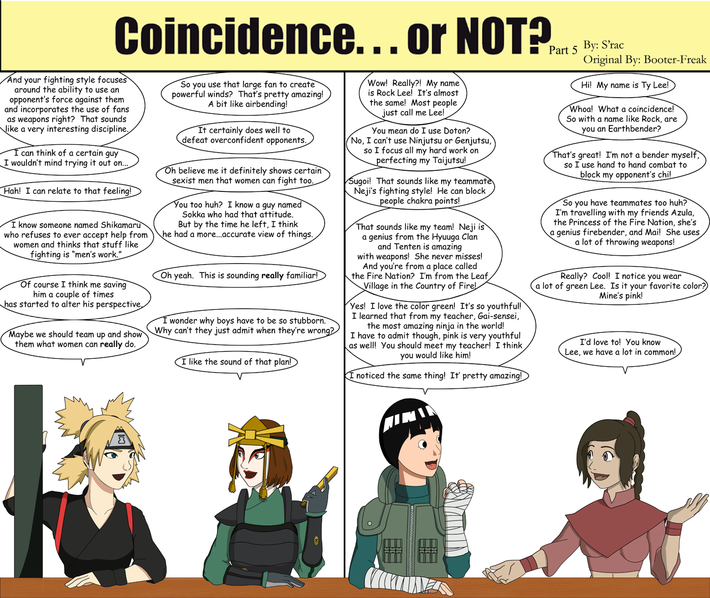 Coincidenceor NOT Part 5 By SractheNinja On DeviantArt