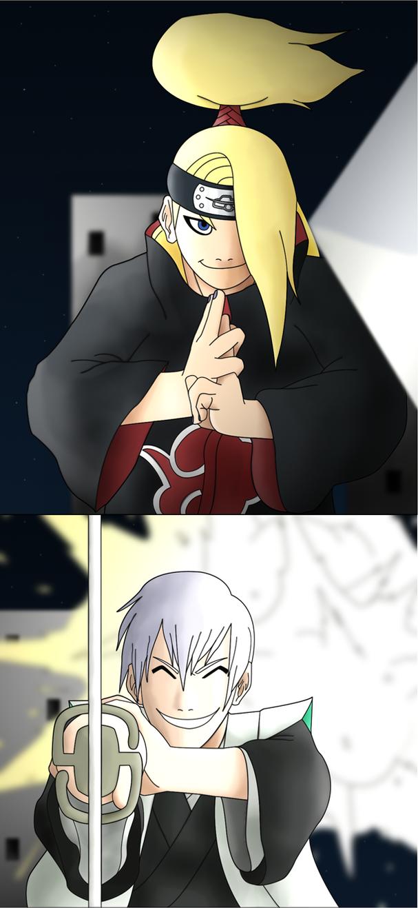 Ninpou vs Kidou II by SractheNinja