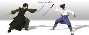 NarutoxATLA: Sasuke and Zuko
