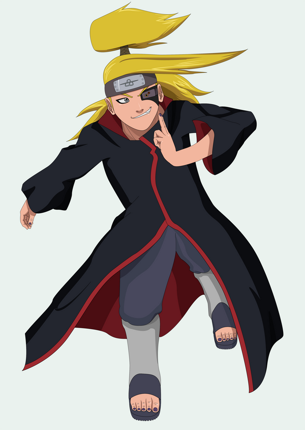 Deidara and Hobgoblin: Deidara by SractheNinja