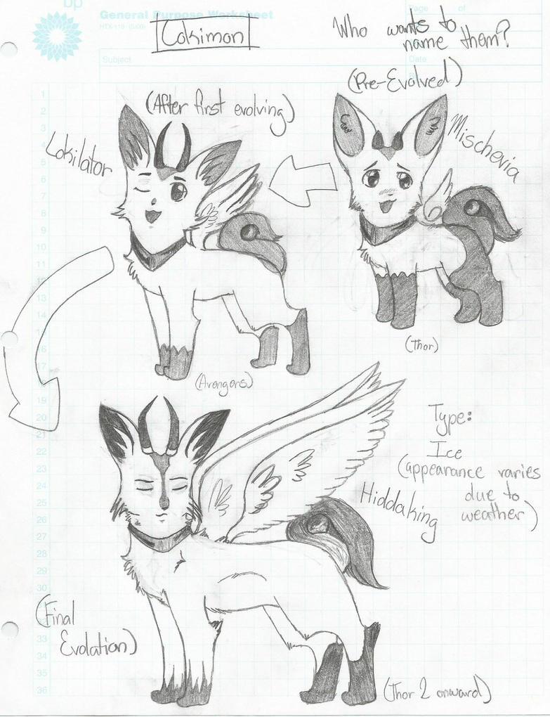 Lokimon Evolution by frostxlion