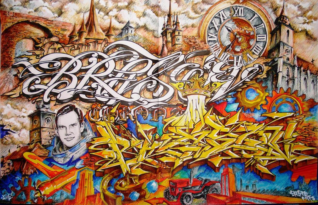 Brasov - sketch by ERSTE