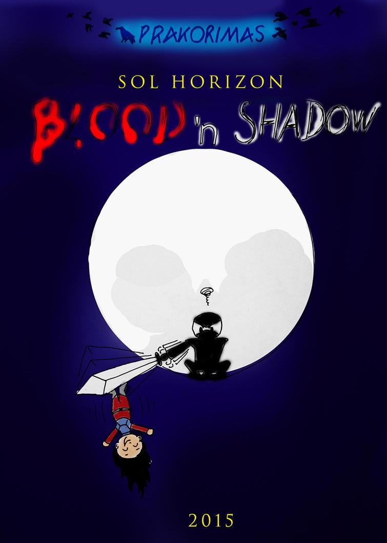 Blood n shadow COVER small by Prakorimas