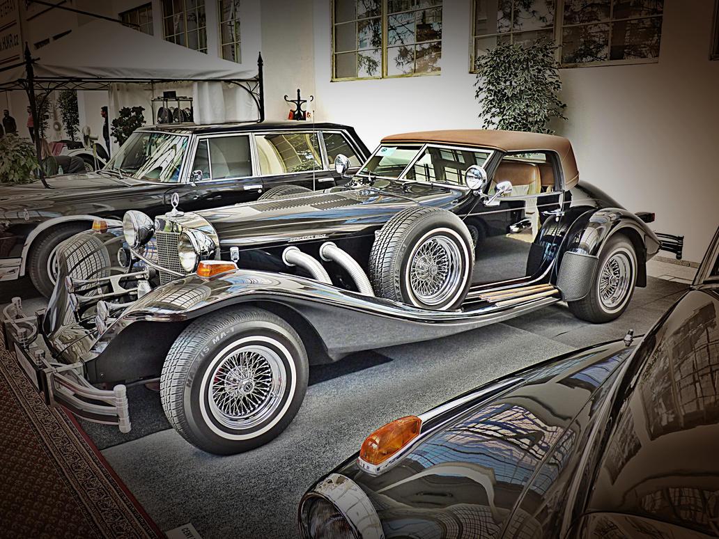 Mercedes benz 500 k retro 1982 by hanskans on deviantart for Mercedes benz retro