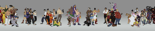 Tekken - Cast by 1981kuro