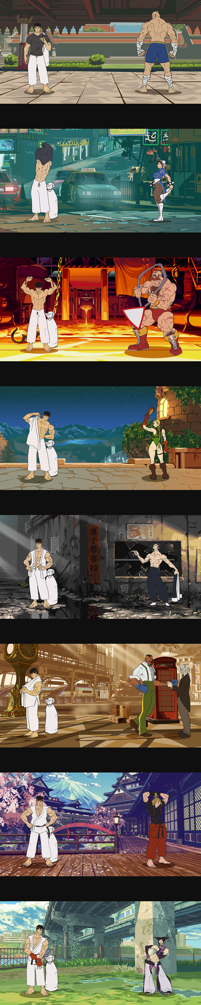 Street Fighter - Prepare for Battle by 1981kuro