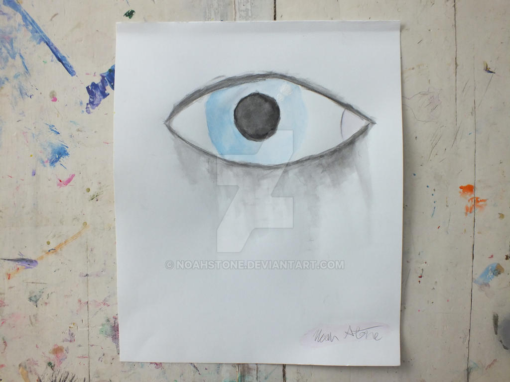 Eyes Crying Painting Crying Eye Abstract Painting