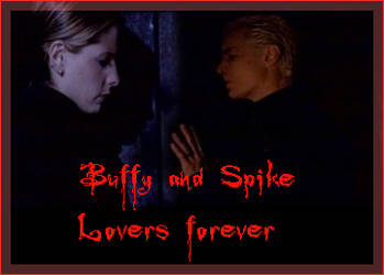 Buffy and Spike by Dawnster