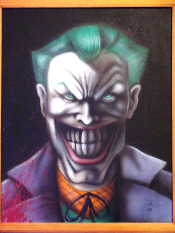 Airbrush Joker Wallpaper: Airbrush Joker By Flaydrake On DeviantArt